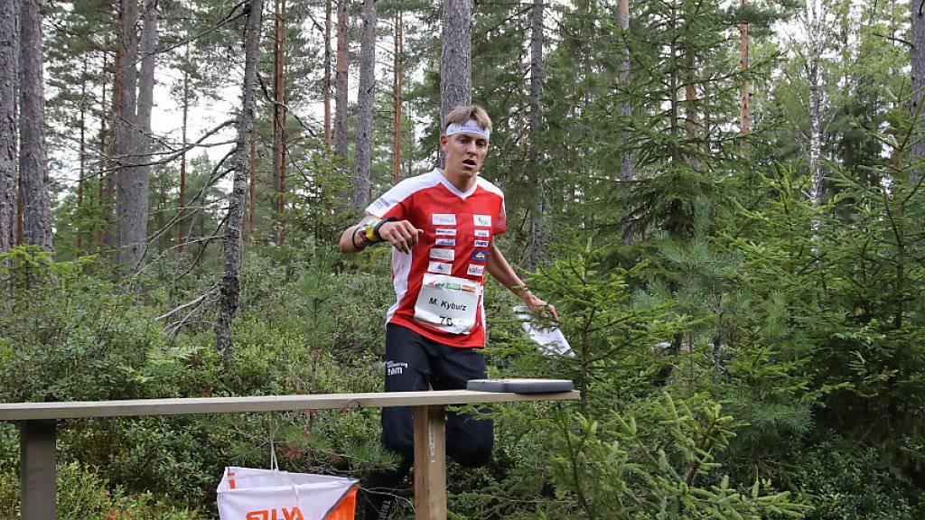 Heuer an den Weltmeisterschaften nur im Wald unterwegs: Matthias Kyburz quittiert den Posten.