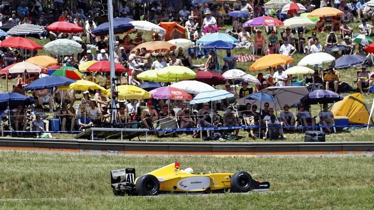 Der Routinier Daniel Mauerhofer begeistert im knallgelben Dallara WorldSeries.