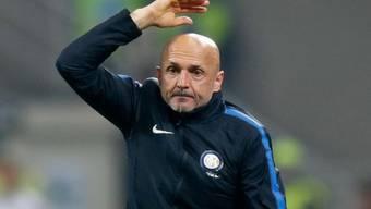 Kein guter Abend: Inter-Coach Luciano Spalletti