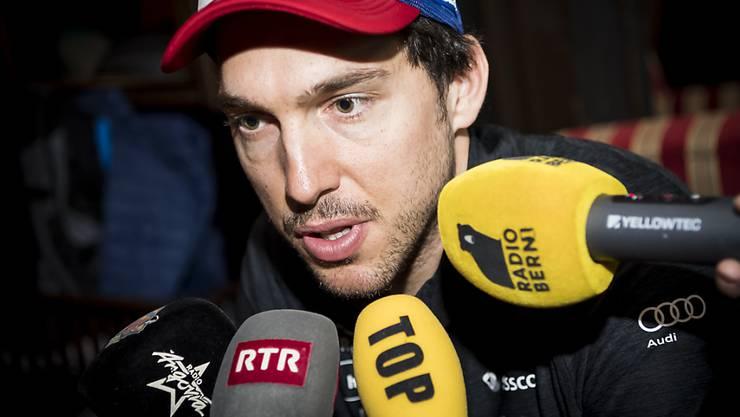 Carlo Janka forciert an der letzten WM in Are mit seiner Kritik über das fehlende Feuer im Schweizer Team den Abgang von Reto Nydeggers Vorgänger Andy Evers