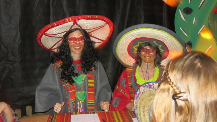 Die Mexikanerinnen standen als Jury im Einsatz.