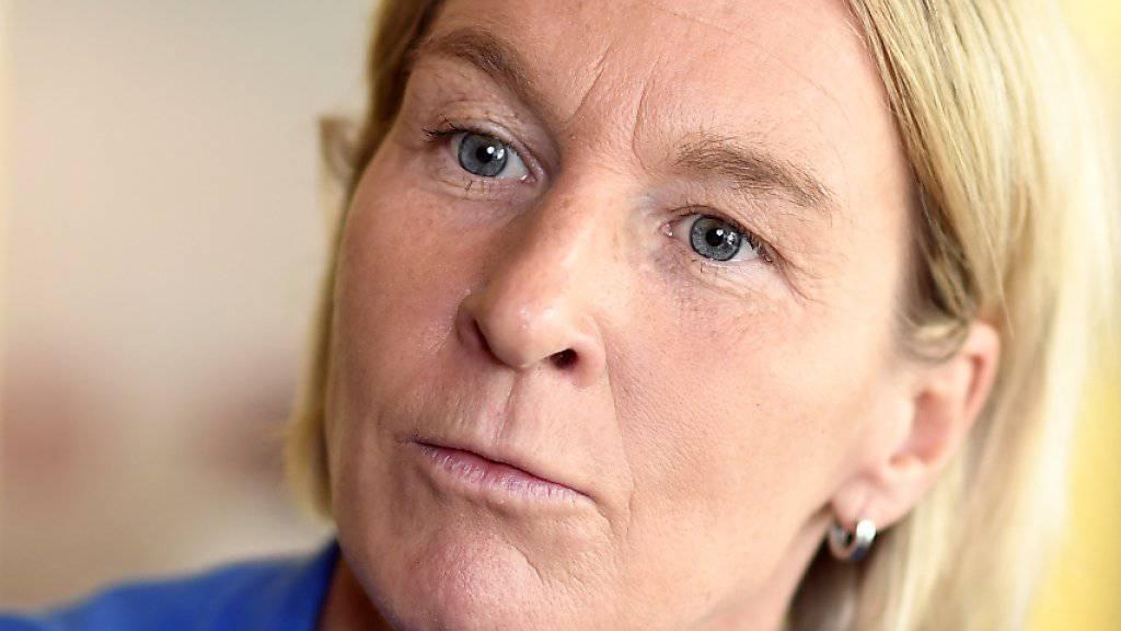 Die EM-Endrunde 2017 im Visier: Martina Voss-Tecklenburg