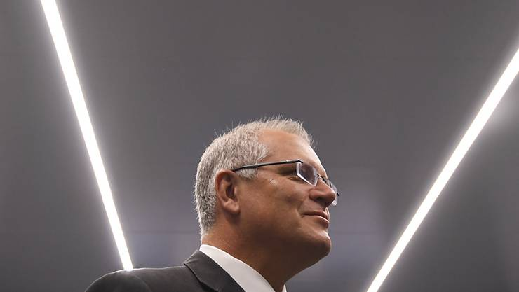 Australiens Premierminister Scott Morrison. (Archivbild)