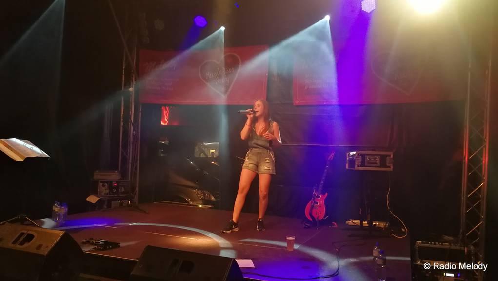 Michelle Kissling versprühte Schlagerluft mit ihren Songs.