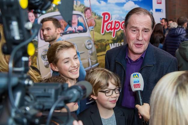 Papa Moll Darsteller Stefan Kurt im Interview.