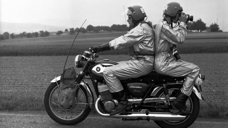 """Ein """"Bilderschatz"""" aus dem Archiv des Medienkonzerns Ringier: Fotoreporter an der Tour de Suisse im Jahr 1968"""