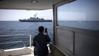 Ein Gefahrenherd für Transportschiffe: Die Meerenge von Hormus.
