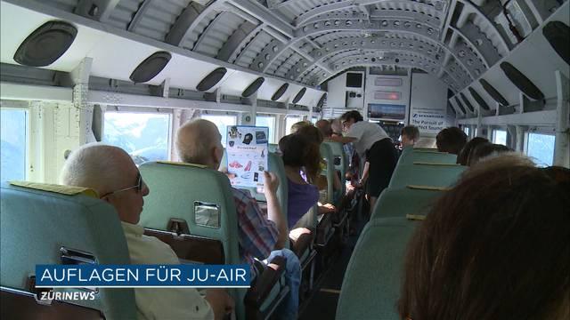 Ju-Air darf mit strengen Auflagen wieder abheben