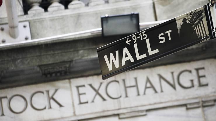 Auch die Boni der Banker an der Wall Street im vergangenen Jahr zurückgingen, darben mussten sie nicht. (Archivbild)