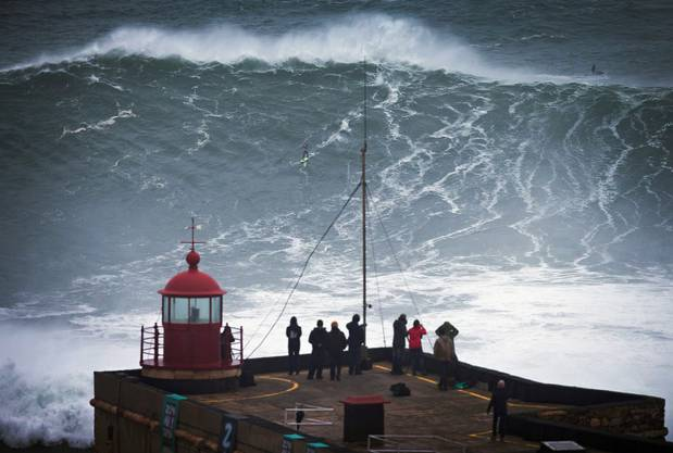 Sturm «Christian» sorgte für Riesenwellen