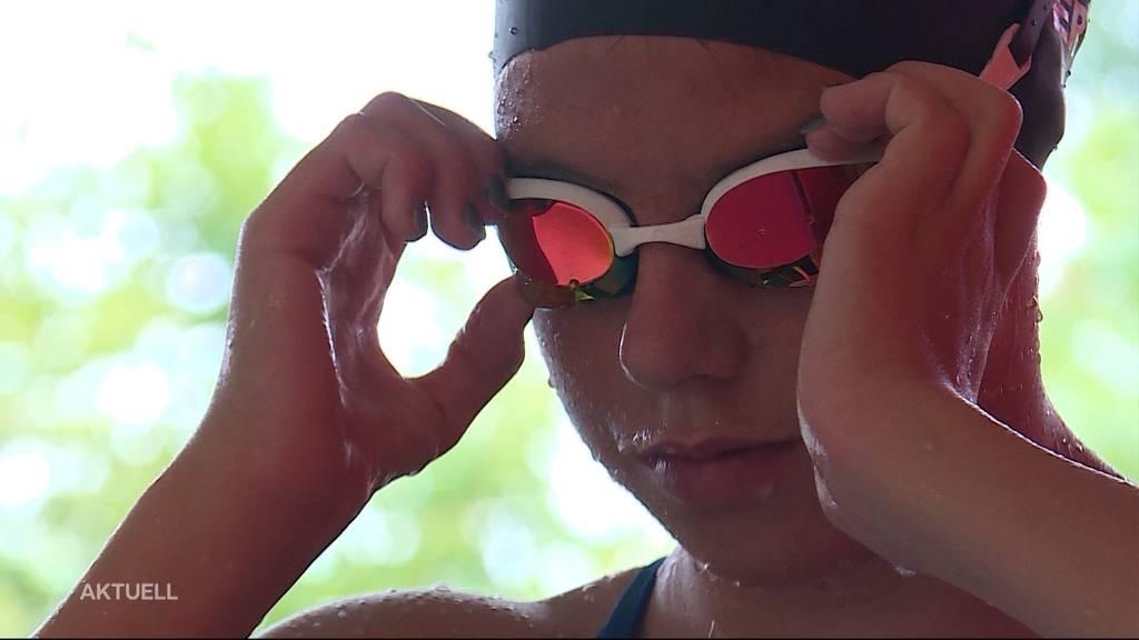 16-jährige Lenzburger Schwimmhoffnung