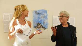 Vernissage und Hommage für Attila Herendi