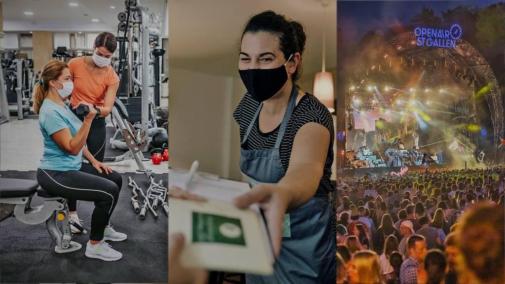 Reaktionen Bundes-PK: Gastro, Veranstalter, Fitnesscenter