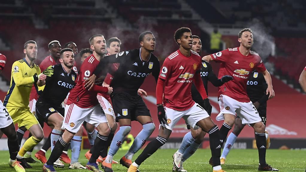 Manchester United musste sich hier kurz vor Schluss gegen den Ausgleich wehren