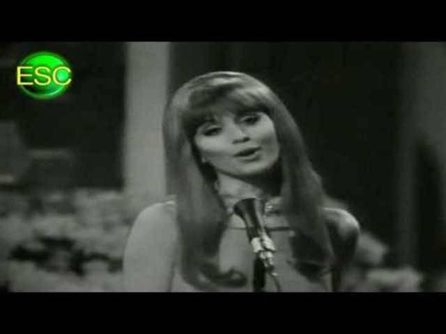 ESC 1967 06 - Switzerland - Géraldine Gaulier - Quel Cœur Vas-Tu Briser?