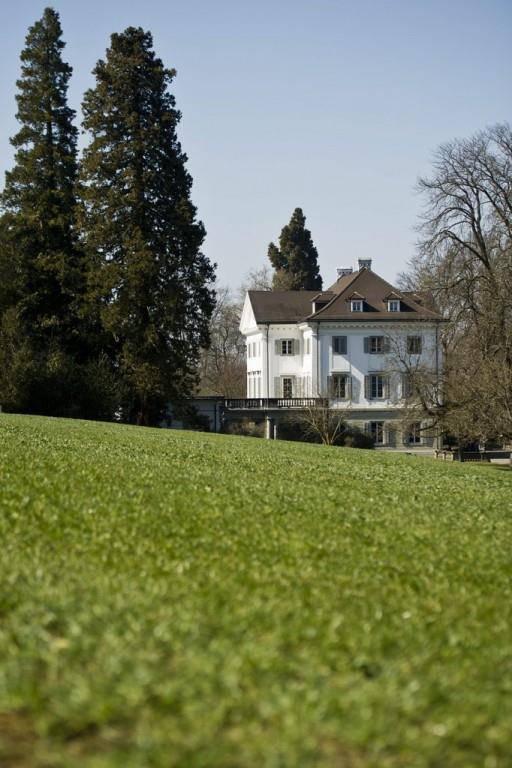 Das Schloss Eugensberg (© Keystone/Ennio Leanza)