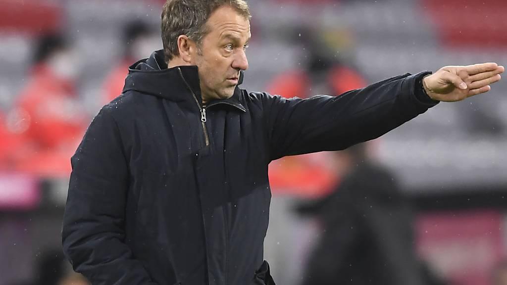 Hansi Flick und die Bayern zeigten zuletzt Schwächen in der Bundesliga