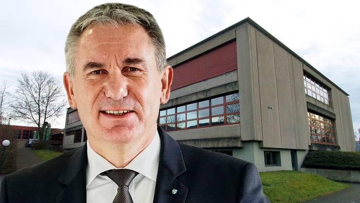 Alex Hürzeler, Aargauer Bildungsdirektor, bleibt derzeit Antworten schuldig.