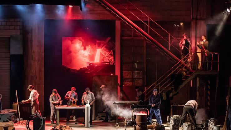 Nach der erfolgreichen Jubiläumsproduktion «Die Schmelzi» (im Bild) nimmt die dramatisch literarischen Gesellschaft Balsthal dieses Jahr ein Stück mit Lokalkolorit ins Programm.