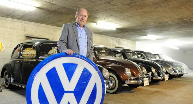 Heiny Volkart freut sich auf die Eröffnung des VW Käfer-Museums.