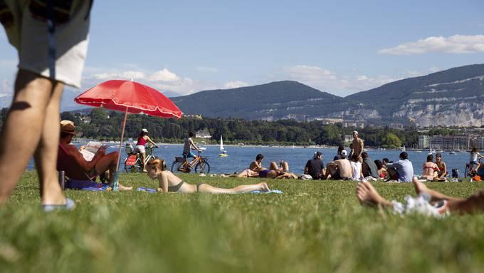 In Genf steigen die Fallzahlen derzeit stark an.