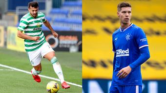 Albian Ajeti spielt seit August für Celtic Glasgow. Cedric Itten unterschrieb neun Tage vor ihm bei den Stadtrivalen Glasgow Rangers.