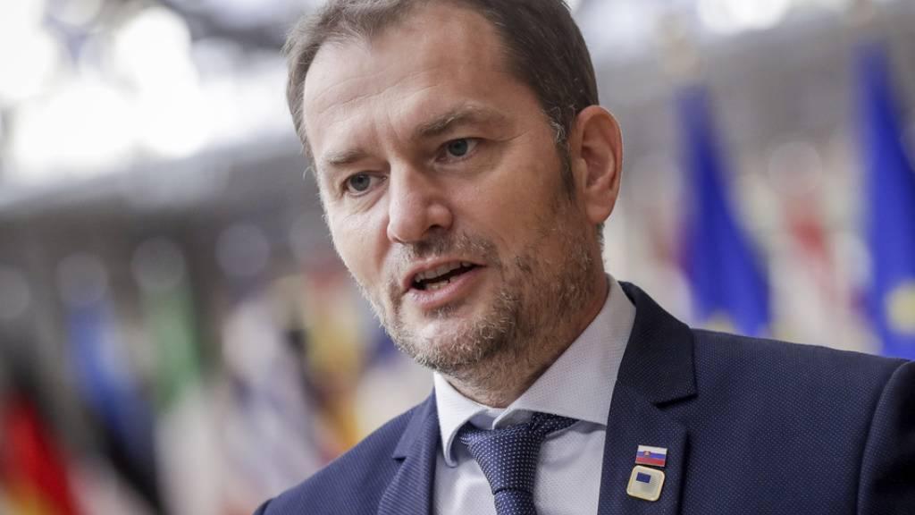 Der Slowakische Regierungschef Igor Matovic hat im Parlament ein Gesetz durchgebracht, das verbietet, akademische Titel, die durch Plagiat erworben wurden, rückwirkend abzuerkennen. Er hat seine Gründe: Er hat nämlich selber geschummelt. (Archivbild)