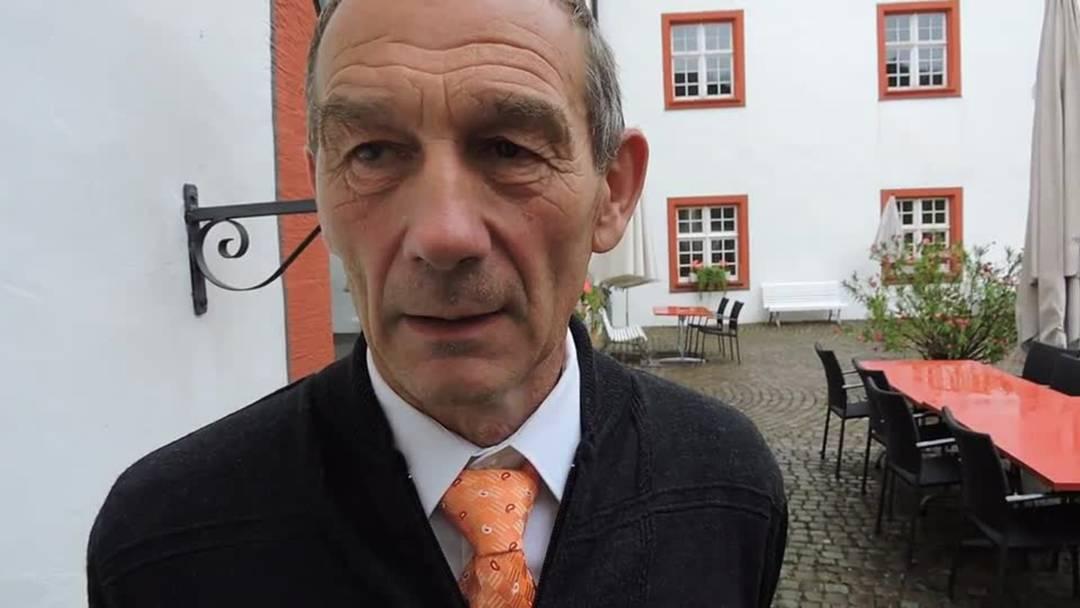 Heiri Rohner, Ammann Wislikofen und Sprecher von Rheintal+: «Es ist ein historischer Tag»