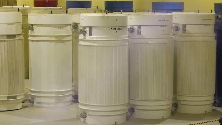 Im Zwischenlager Würenlingen AG wurden zum letzten Mal atomare Abfälle, die aus der Wiederaufbereitung im Ausland stammten, eingelagert (Archivbild).