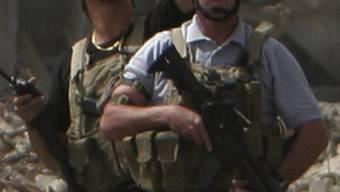 Söldner im Irak im Einsatz (Archiv)