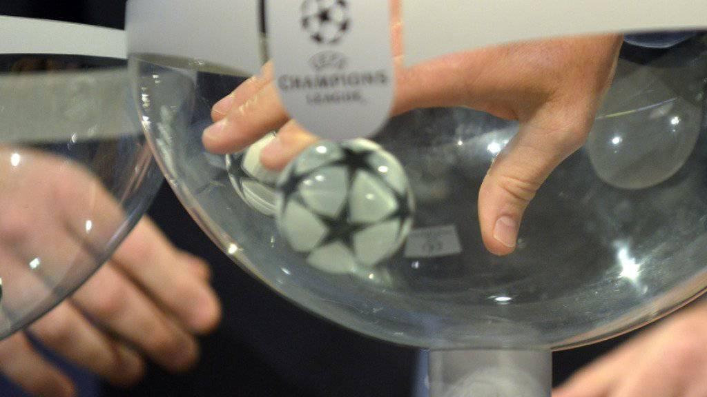 In Nyon wurden die Achtelfinal-Paarungen der Champions League ausgelost