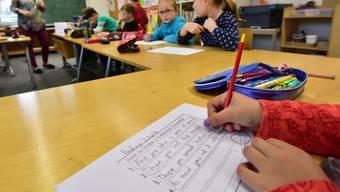 Mit dem neuen Schuljahr tritt im Aargau auch der Lehrplans 21 in Kraft.