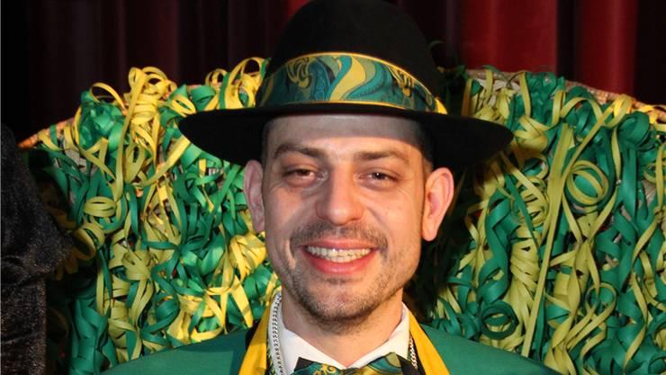 Tobias Roggwiller wurde am Zunftbot vom 13. Januar zum Zunftmeister 2018 mit dem Namen «Roggi de Wild» gewählt.
