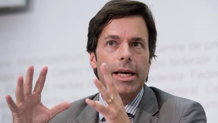 Philipp Metzger, Chef des Bundesamts für Kommunikation. Key