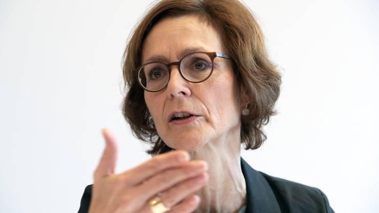 Monika Rühl, Direktorin des Wirtschaftsdachverbands Economiesuisse.