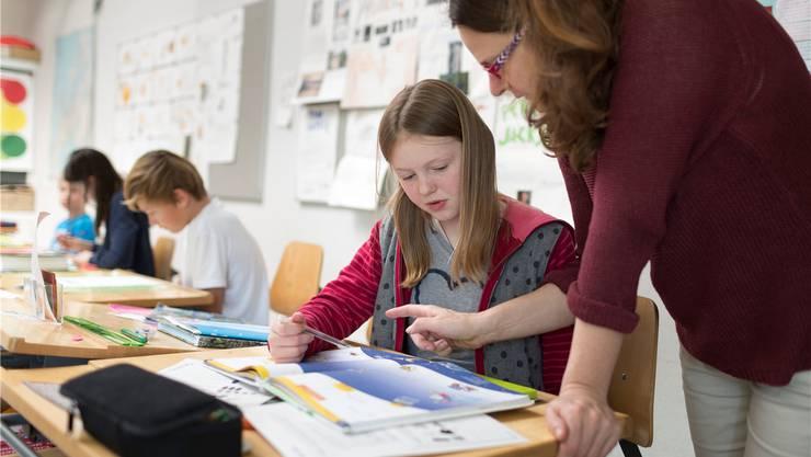 An den Fricktaler Kindergärten und Schulen sind die allermeisten Stellen für das kommende Schuljahr besetzt. Symbolbild: key