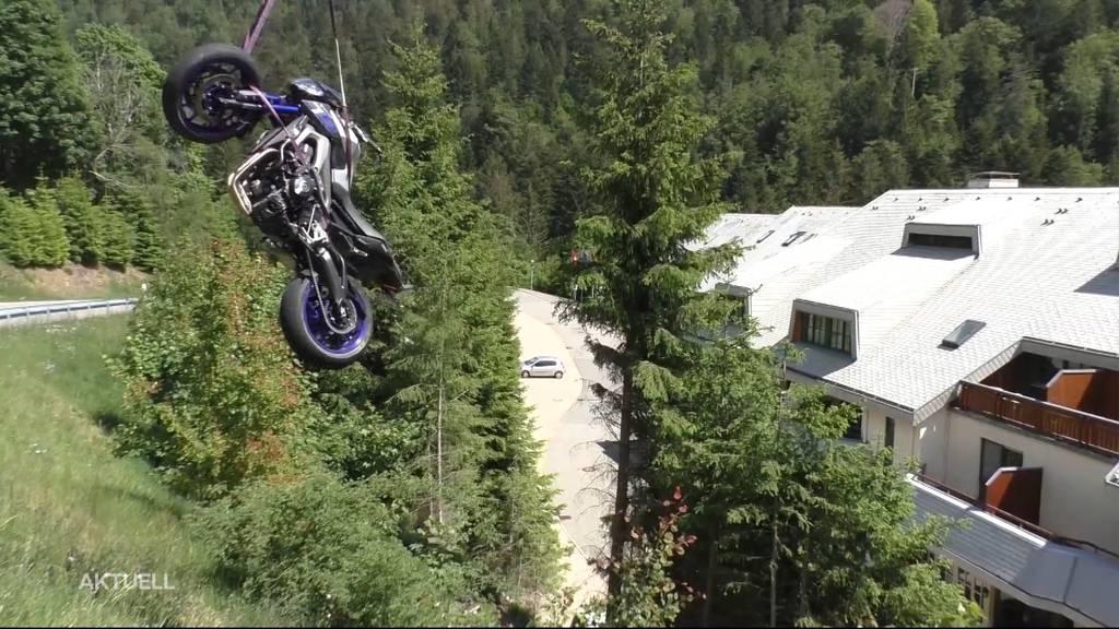 Aargauer Paar verunglückt mit Motorrad im Schwarzwald schwer