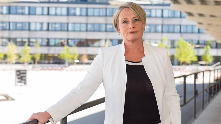 Handelskammer-Präsidentin Elisabeth Schneider-Schneiter fürchtet um das Schengen-Abkommen – und die Folgen einer Kündigung. (Archiv)