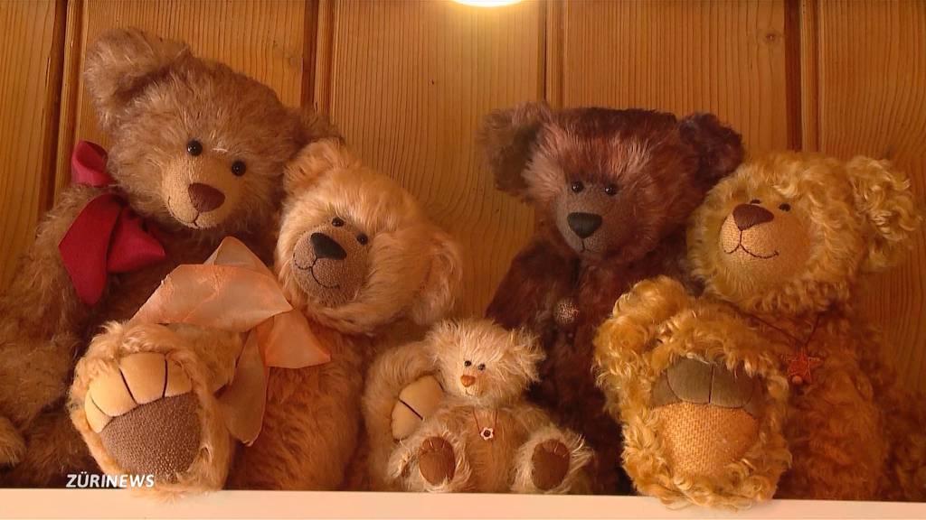 Liebe und Leidenschaft: Brigitte Gut stellt in aufwendiger Handarbeit Teddybären her
