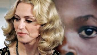 Madonna ist ein rassistisches Wort rausgerutscht (Archiv)