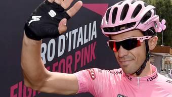 Alberto Contador bleibt im Leadertrikot