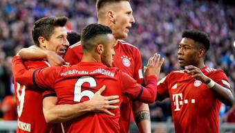 Bayern - BVB 5:0