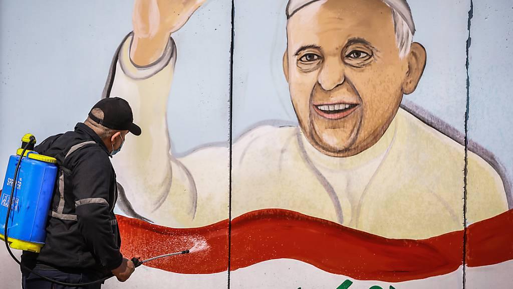Papst Franziskus fordert vor Irak-Reise Zusammenhalt in Pandemie