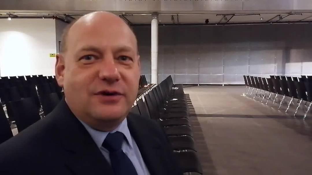 Valentin Schmid zu seinem Rücktritt nach der Gemeindeversammlung in Spreitenbach