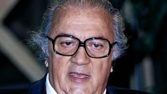 Italien feiert Federico Fellini 2020 mit einem umfassenden Programm. Der Filmregisseur wäre in diesem Jahr 100 Jahre alt geworden. (Archiv)