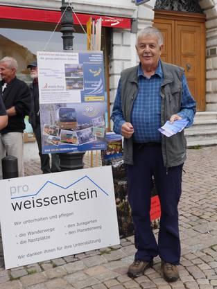 Präsident des ProWeissenstein, Werner Baumgartner