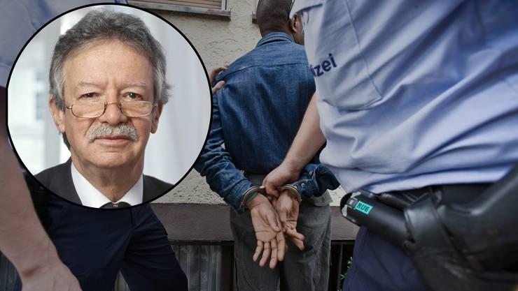 Strafrechtsexperte Martin Killias hält es für «naiv», zu glauben, dass durch Weglassen der Nationalität in Polizeimeldungen Rassismus bekämpft wird.