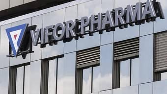 Das Pharmaunternehmen Vifor Pharma ist dank seiner Kassenschlager im ersten Halbjahr 2019 stärker gewachsen als erwartet. (Archiv)