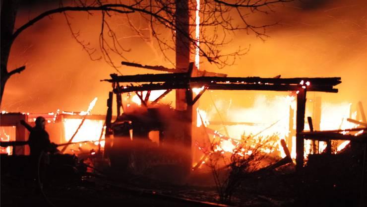 Brand verursacht Schaden von 30'000 Franken. (Symbolbild)