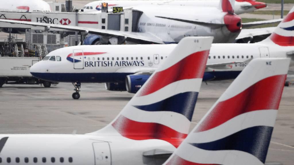 Fluggesellschaften wie British Airways oder Air-France haben auch im Sommer unter den Einschränkungen aufgrund der Corona-Pandemie gelitten. (Archivbild)